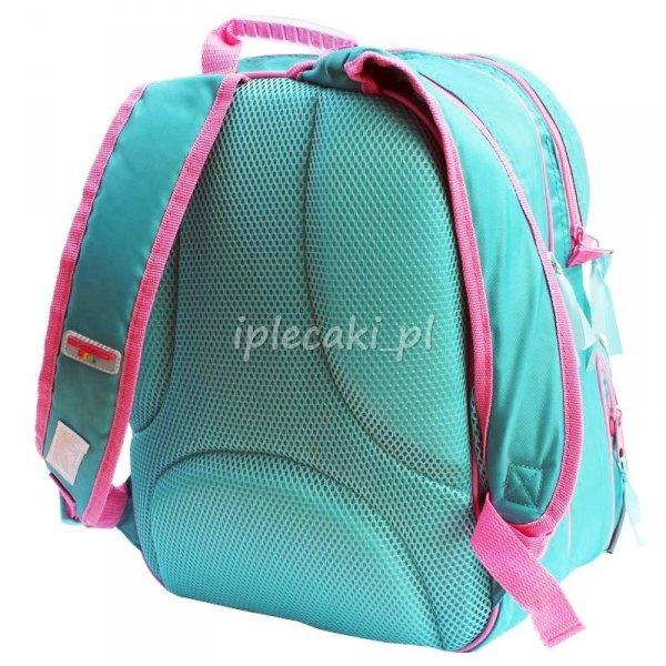 Zestaw Szkolny 3w1 Wróżka - plecak szkolny+piórnik z wyposażeniem+worek gimnastyczny Dzwoneczek
