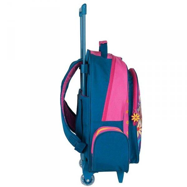 plecak szkolny na kółkach kraina lodu dla dziewczyny