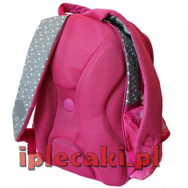 Plecak szkolny piórnik worek gimnastyczny bidon śniadaniówka Księżniczka Arielka [603011]