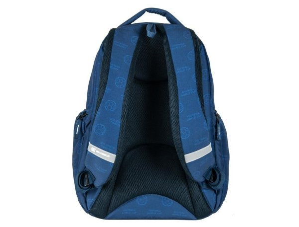 Plecak Młodzieżowy Szkolny Niebieski Piłka Nożna
