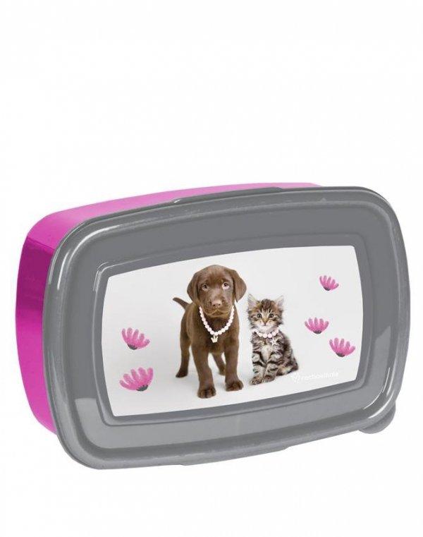 Śniadaniówka Bidon z Pieskiem Kotkiem dla Dziewczyny [RLA-3022]