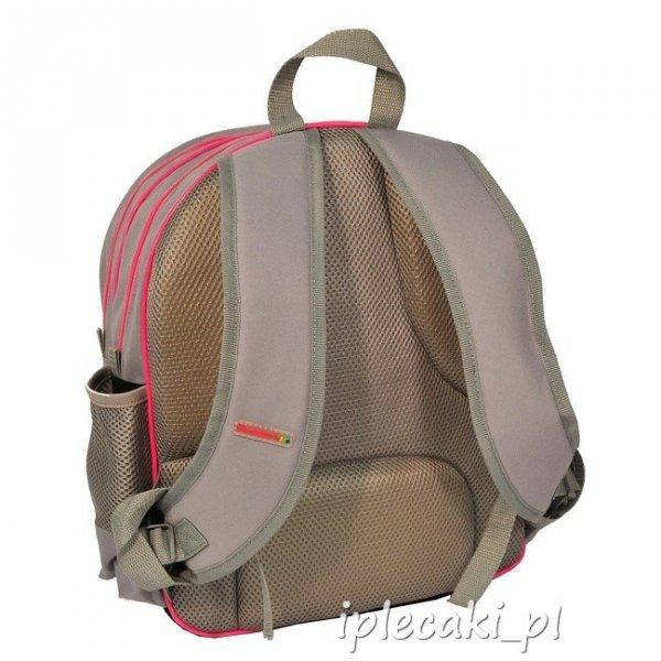 Plecak szkolny piórnik z wyposażeniem worek gimnastyczny z pieskiem 13-157GA