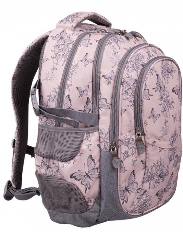 Plecak St.Right Szkolny Młodzieżowy Motyle Butterflies [BP1]