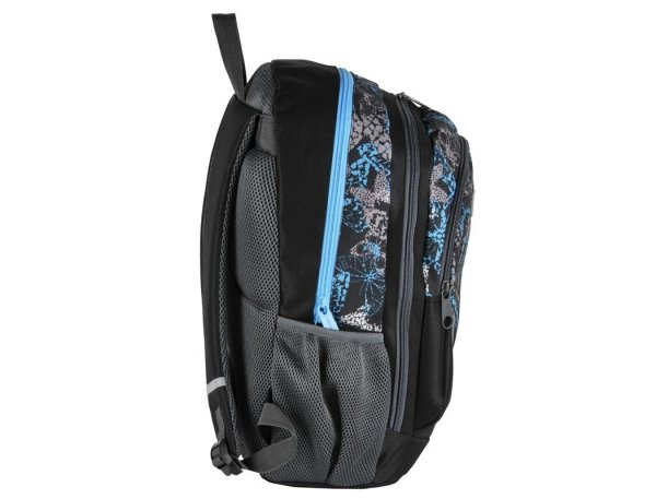 Plecak Młodzieżowy Szkolny Motyle Niebieskie Szare