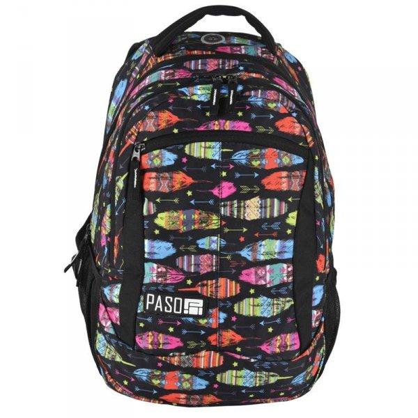 Plecak Młodzieżowy dla Dziewczyny Szkolny Piórka 17-2808UA