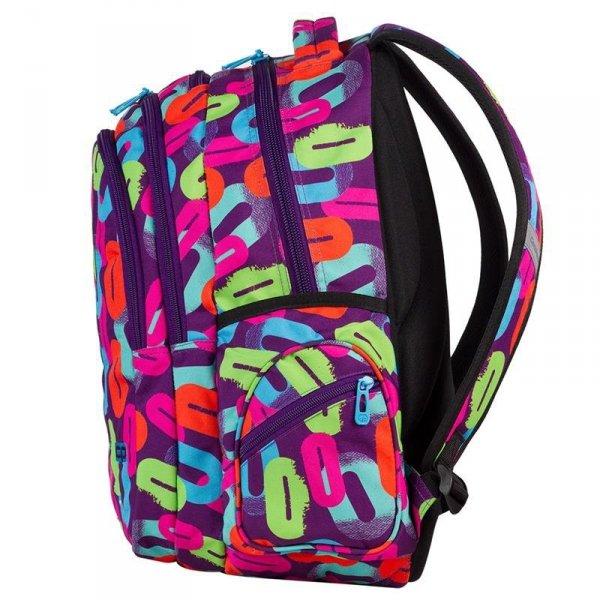 plecak coolpack w kolorowe zera