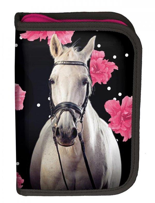 Piórnik Szkolny z Wyposażeniem Konie dla Dziewczyny [18-001HR]