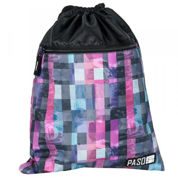 Worek na Buty Obuwie Gimnastyczny Młodzieżowy Plecak Kolorowy 17-713UI