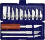 Nożyki do prac precyzyjnych (16el)