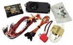 System symulujący dźwięki i oświetlenie samochodu