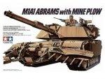 TAMIYA 35158 M1A1 ABRAMS W/MINE PL.