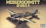 Tamiya 60750 MESSERSCHMITT Bf109E-3 1/72