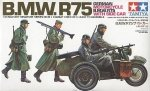 TAMIYA 35016 1/35 GER. MOTORCYCLE W/SIDE