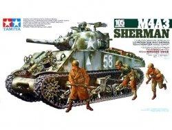 TAMIYA 35251 M4A3 SHERMAN 105 MM
