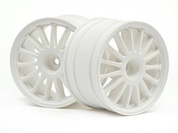 WR8 TARMAC WHEEL WHITE (2.2/57X35MM/2PCS)