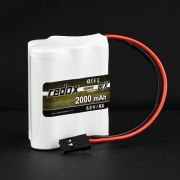 Pakiet NiMH Redox RX-Pack 6,0V 2000 mAh kostka
