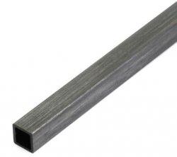 Profil węglowy kwadratowy 10x10x1000mm otwór 8,5mm