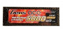 Akumulator Gens Ace 5000mAh 7,4V 50C 2S1P Hard Cas