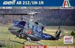 ITALERI 1343 BELL AB.212/UH1N