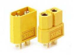 Złącze prądowe XT60 - PARA wtyczka + gniazdo