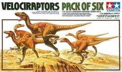 TAMIYA 60105 - 1/35 Velociraptors - Pack of Six