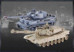 Zestaw wzajemnie walczących czołgów M1A2 Abrams i
