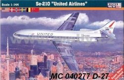 Mistercraft Samolot SE-210 United Airlines 1:144 0