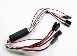 Adapter napięciowy BEC z czterema wyjściami
