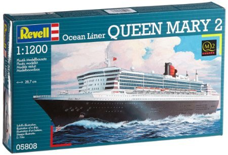 Revell 65808 Model Set Queen Mary 2