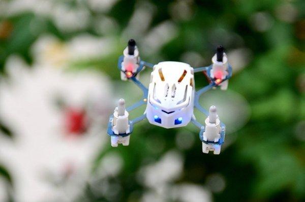 Nano Dron HUBSAN X4 - biały