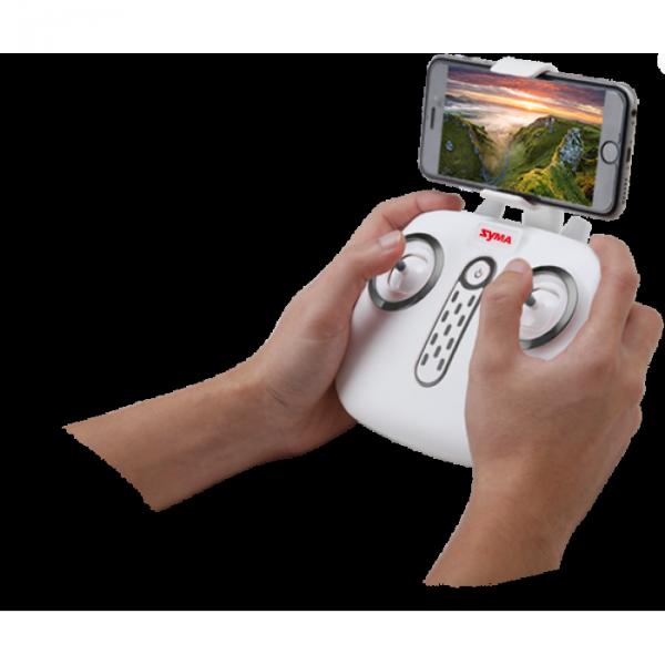 Dron Syma X25 PRO GPS, zdalnie obracana kamera Wi