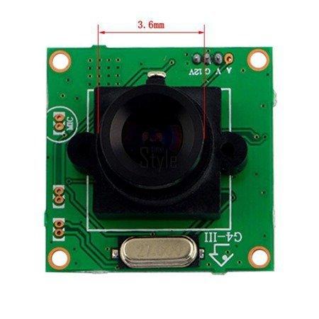 Kamera płytkowa PCB HD 700 TVL CCD Sony