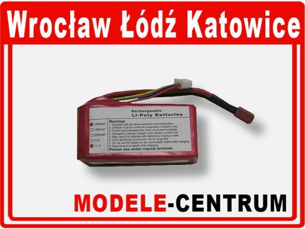 Akumulator  11,1V 1500 mAh  12C