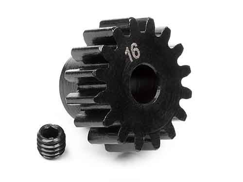 PINION GEAR 16 TOOTH (1M / 5mm SHAFT)