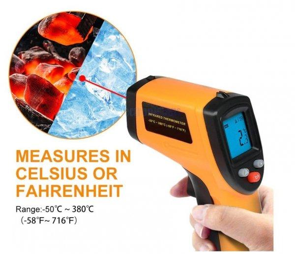 Pirometr Termometr Laserowy NEW  5 LAT GWARANCJI !