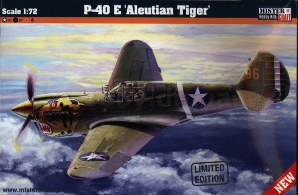 MASTERCRAFT D-202 P-40E ALEUTIAN TIGER 1/72