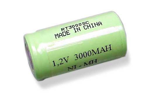 Akumulator 1,2V 3000mAh NiMh