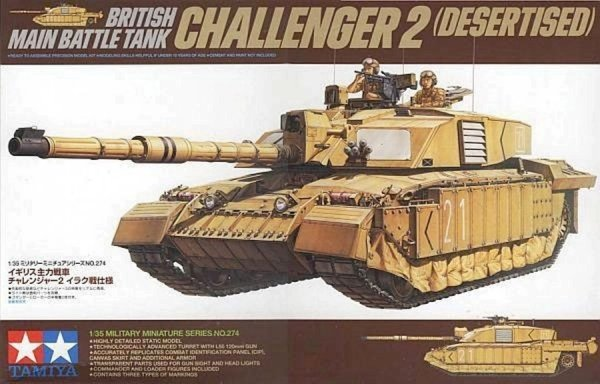 Tamiya 35274 Challenger II skala 1/35