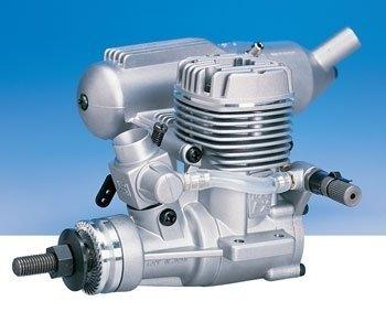 25AX (4,07cm3) Silnik O.S. MAX  z tłumikiem