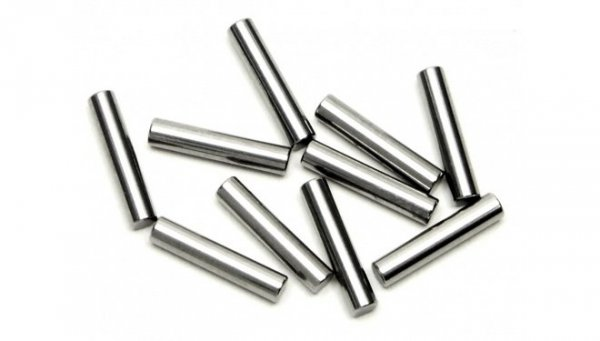 HPI RACING PIN 2 x 10mm SILVER (10 pcs) #Z264