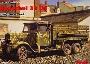 ICM 35466 1/35 Henschel 33D1 WWII