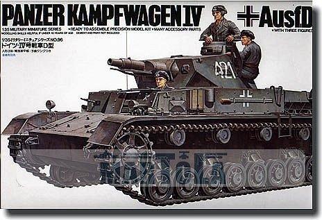 TAMIYA 35096 1/35 German PzkpW IV AUSF