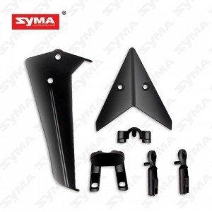Syma S36-02B - Stateczniki ogona czarne