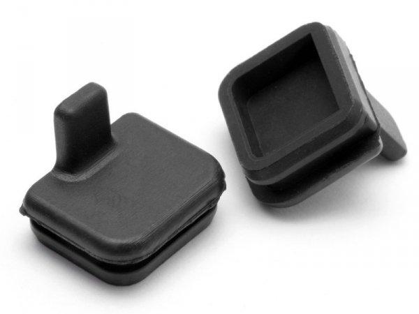 RUBBER CAP 10x11mm (BLACK) 87027