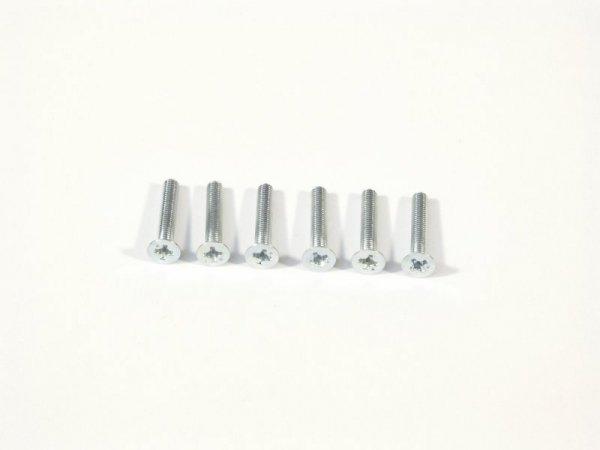 FLAT HEAD SCREW M3x18mm 6pcs Z530