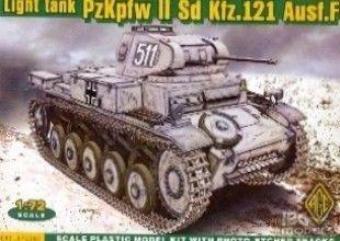 ACE 72269 1/72 PzKpfw II Sd.Kfz.121 Ausf.F