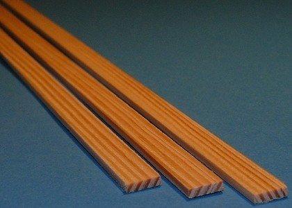 Listwa sosnowa - 10x10x1000mm