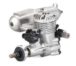 15LA (2,5 cm3)  Silnik O.S. MAX z tłumikiem