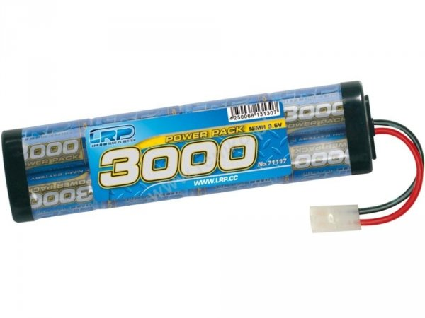 Akumulator LRP POWER PACK  8,4V - 3000 mA NIMH