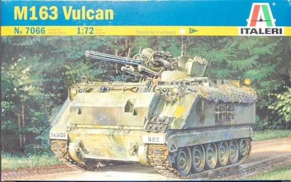 ITALERI M163 Vulcan cannon in 1/72 7066